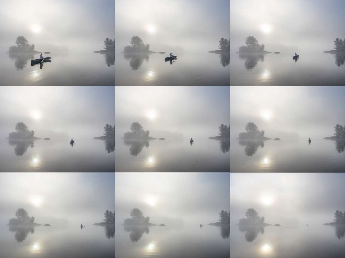 time lapse sequence