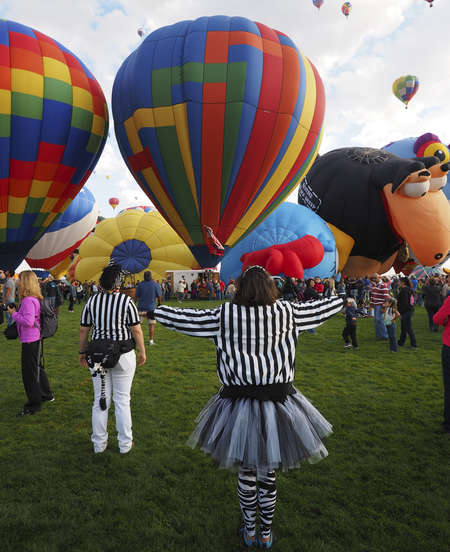 Ballooning Officials
